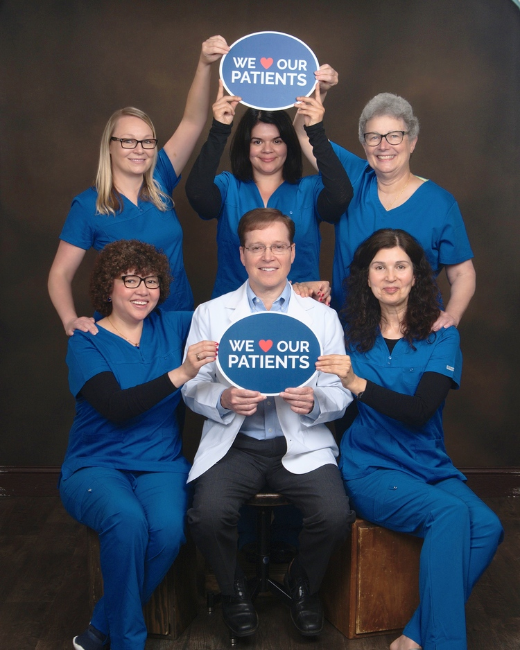 Photo of Dr. Dunne and Staff
